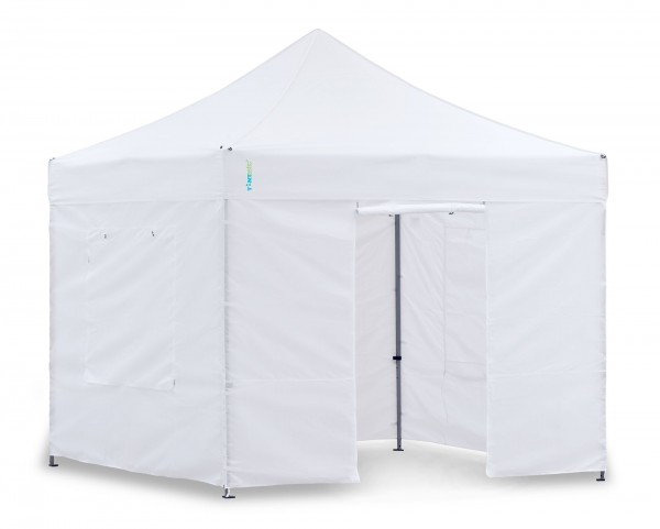 Light-Pavillon-Set - Faltzelt 3x3 m Weiss
