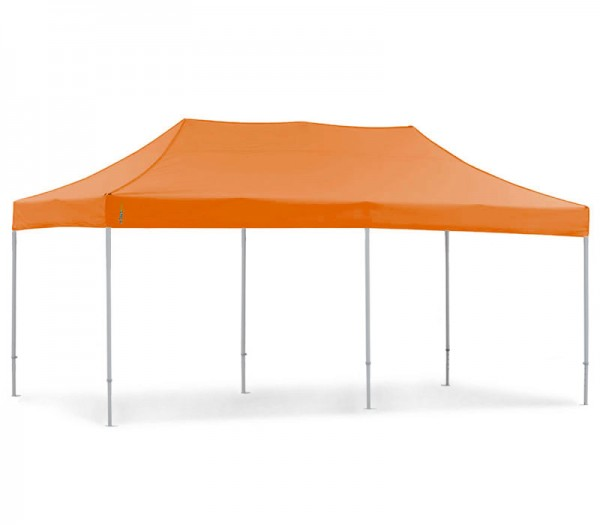 Faltzelt 3x6 m hex pvc Faltpavillon 3x6 m orange