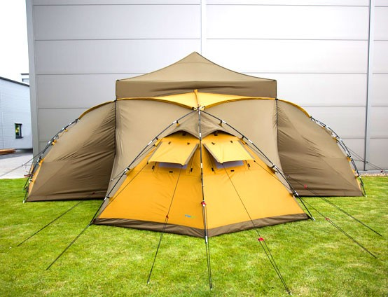 Tentastic MaximumHome - Das mega Campingzelt mit bis zu 9 Schlafplätzen