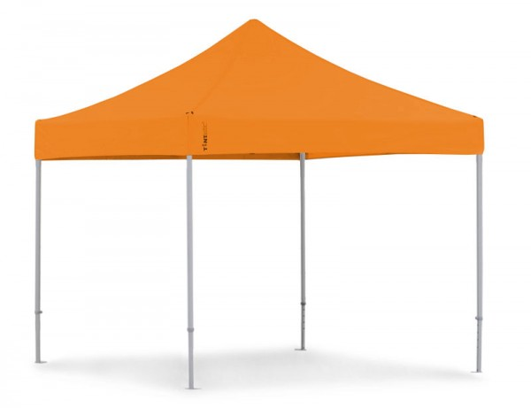 Faltzelt 4x4 m PVC Faltpavillon 4x4 m orange