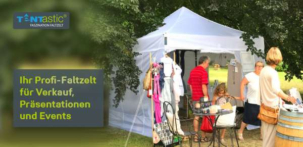 Tentastic-Faltzelt-Faltpavillon-Gartenlust-Pavillon